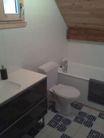 Salle de bains WC etage