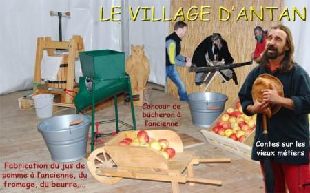 Village d antan et vieux metiers