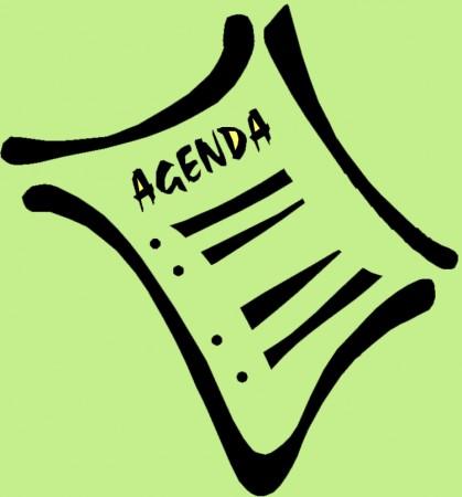 agenda vert