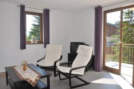 Salon côté balcon