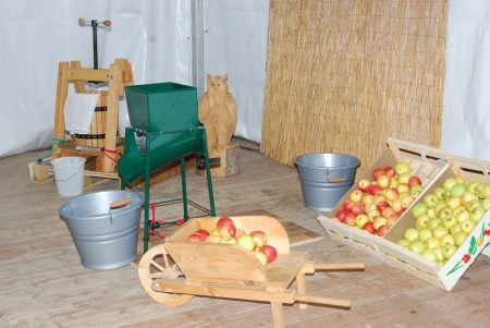 fabrication jus de pomme à l'ancienne