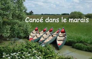 canoe marais